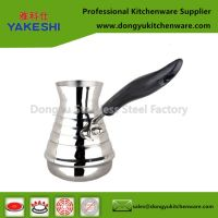 export stainless steel milk pot coffee boiling pot