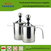 201 bubble milk cup stainless steel hand milk frother