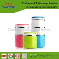 multi layers stainless steel lunch box tiffin box
