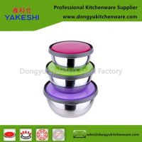 stainless steel food bowl freshing bowls set