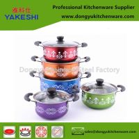 10pcs induction cookware set and gift stockpot set for promotion