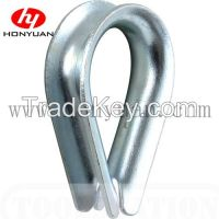 US Type Galvanized Carbon Steel Wire Rope Thimble