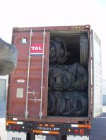 RUBBER SCRAP TIRES BALED