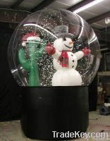 2011 Inflatable Christamas snow globle