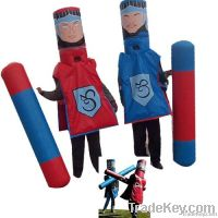 inflatatable games Gladiator suit