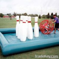 inflatable games Human Bowling game