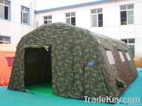Military inflatable tents