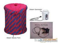 Portable inflatable steam sauna