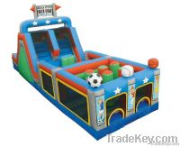 all star mega Inflatable obstacle