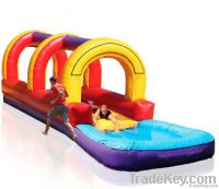 inflatable game slip and dip