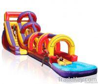 inflatable slide super splash