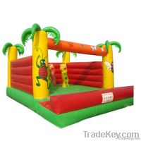 Jungle inflatable bounce