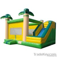 Tropical Jungle inflatable bouncer