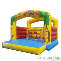 Jungle Life inflatable bounce