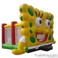 forest jungle inflatable castle