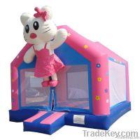 Hello kitty inflatable bounce
