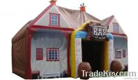 outdoor inflatable bar tents