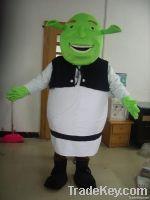 adult Shrek mascot costumes