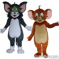 Tom and Jerry mascot costumes