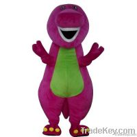 Barney the dinosaur Mascot costumes for cartoon character
