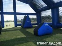 Inflatable Paintball Tent