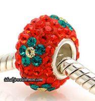 branded Sterling Silver Zircon Stone Beads