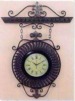 Home Accents Metal Clock Metal Wall Clock Iron Hanging Clock