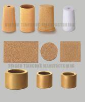 muffler, filter, sintered bronze filter, sintered, bronze sintered