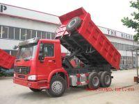 export sinoruk howo dump truck