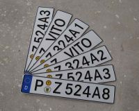 Fun Plates/license plate/auto license plate, car registration license p