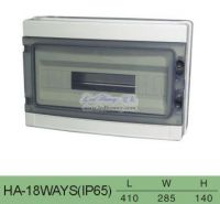HA series distibution boxes, Electric Box, Plastic distribution board