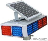 Solar traffic flashing lights