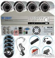 4Ch H.264 FULL D1 DVR-9114KIT1