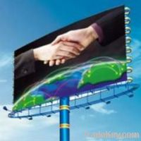 PVC Flex banner frontlit/banner flex/ laminated fabric