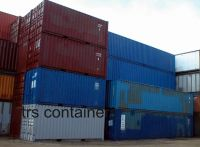 20ft steel shipping and storage container