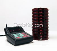 Patron Coaster Pager/Paging Queuing Completing System