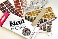 Nail art foil, Nail art transfer foil