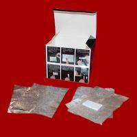 Aluminum foil nail remover wraps
