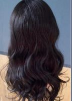 STYLISH LACE FRONT WIGS, SYNTHETIC FIBER, STOCK AVAILABLE