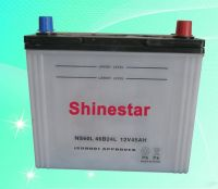 Sell high quanlity NS6012V45AH Dry Car Battery