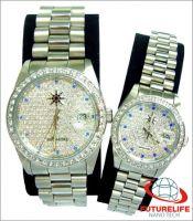 magnetic wrist watch