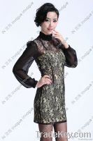 NEW Arrival!! 10502 Fitted allover floral Lace Dress