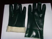 pvc double dipped glove