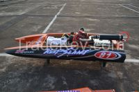 44'' in, High Speed Racing 26cc Gas RC Boat With Original Radio
