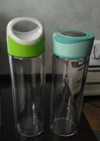 water glass bottles