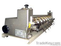 Single gluing machine