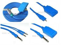 Reusable cable for ESU pad