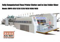 Fully Computerized Flexo Printer Slotter and In Line Folder Gluer