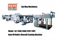 Auto UV Roller Coating Machine for Thick and Thin Paper
