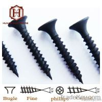 black drywall screw & gypsum board screw, fine quality